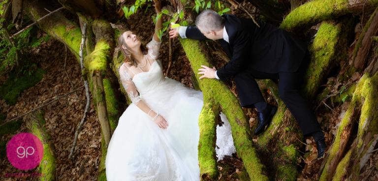 une sance photo trash the dress dans la foret de rambouillet post dansmariage - Photographe Mariage Rambouillet