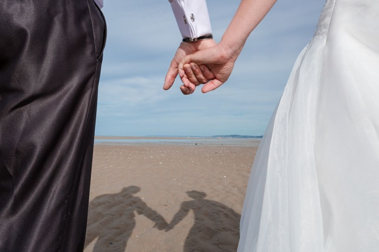 photo couple mariage trash the dress