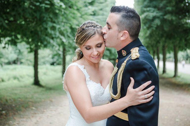séance photo après le mariage chateaux deversailles