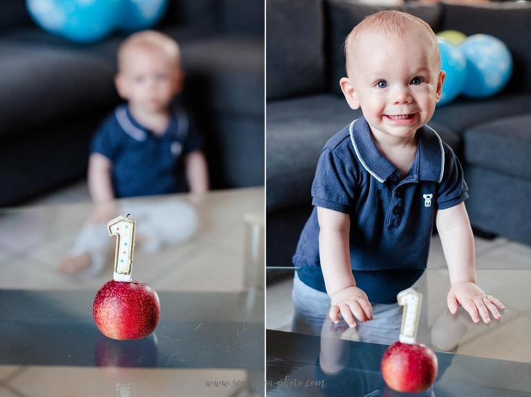 Photographe bébé 78. Séance photo anniversaire